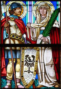 sv. Václav a sv . Ludmila