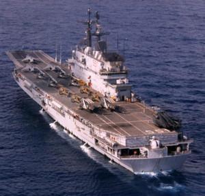 letadlová loď USA