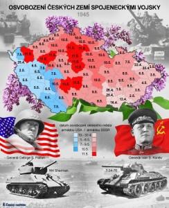 Osvobození 1945